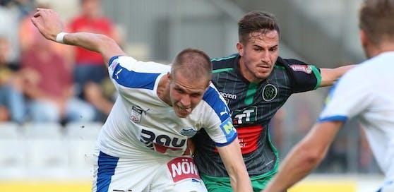 Stefan Hager (Wr. Neustadt) gegen Daniele Gabriele (Wacker)