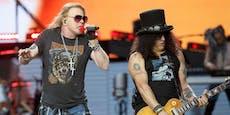 Guns N'Roses: Erster neuer Song nach fünf Jahren