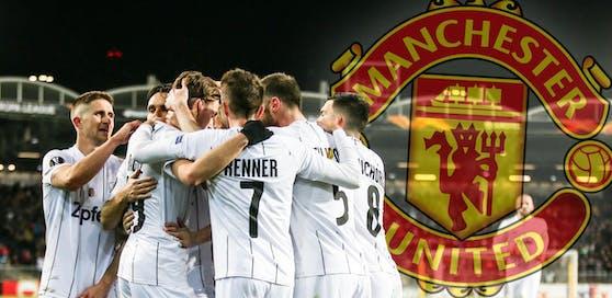 Der LASK kämpft gegen Manchester United um den Einzug ins Viertelfinale der Europa League.