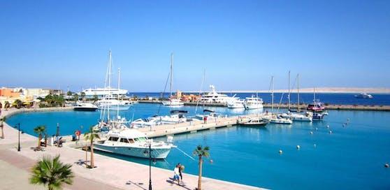 Der ägyptische Hot-Spot für Badeurlauber: Hurghada.