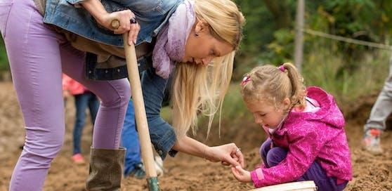 Spannende Angebote für die Kinder am 22. April in der Amethyst Welt Maissau.