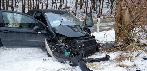 Schwerer Unfall am Donnerstagnachmittag: Eine schwangere Frau wurde verletzt.
