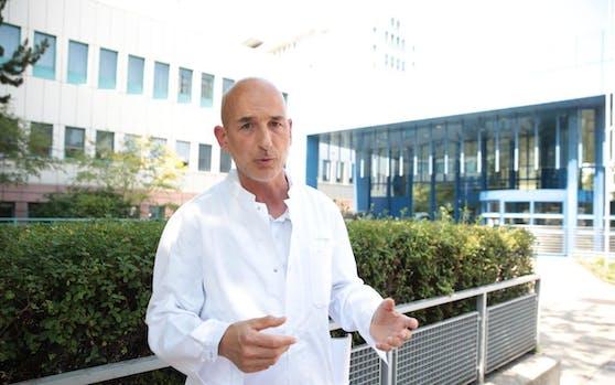 Aufschrei im Lorenz-Böhler-Unfallkrankenhaus: Heinz Brenner, Fachgruppenobmann der Ärztekammer für Wien, schlägt Alarm.