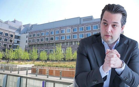Der freiheitliche Wiener Vizebürgermeister Dominik Nepp will nun die Verbindungen zwischen Ex-Gesundheitsstadträtin Sonja Wehsely und der Siemens AG durchleuchten. (c) Philipp Enders/Helmut Graf