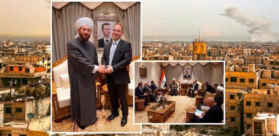 AfD-Politiker besucht trotz Reisewarnung Damaskus (Syrien)