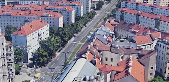 Der Verdächtige konnte in der Adalbert-Stifter-Straße angehalten werden.