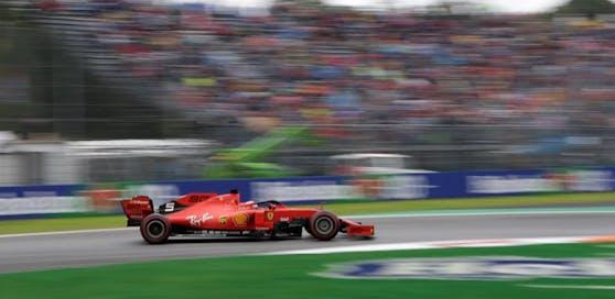 Sebastian Vettel fuhr Trainingsbestzeit in der Samstags-Session.