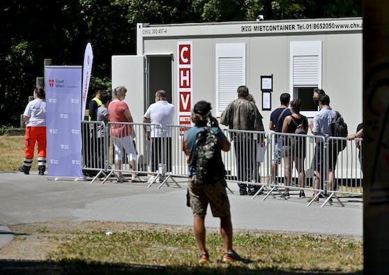 Nächste Impfbox in Wien wird beim Stadionbad eröffnet.