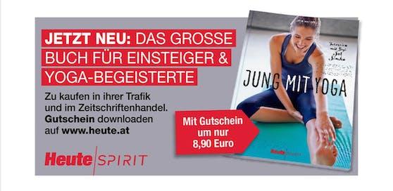 Yoga-Magazin-Gutschein zum Download auf heute.at.