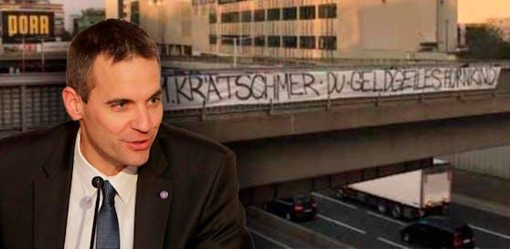 Austrias AG-Vorstand Markus Kraetschmer wird weit unter der Gürtellinie beleidigt.