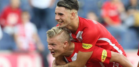 Erling Haaland ging nach Dortmund. Verlässt auch Kumpel Dominik Szoboszlai die Bullen?