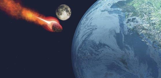Am Donnerstag fliegt das Objekt verhältnismäßig nahe an unserem Planeten vorbei.