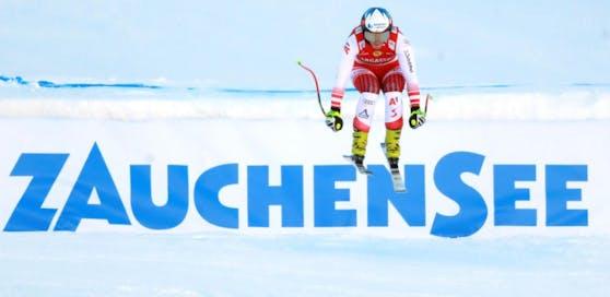 Ramona Siebenhofer war im Zauchensee-Training die Schnellste.