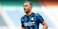 Fix! Eriksen darf nicht mehr in Italien Fußball spielen