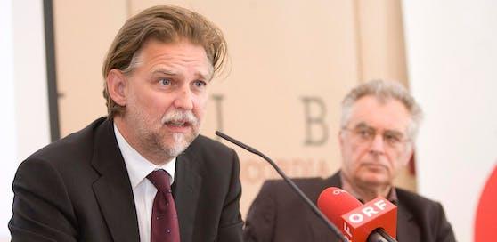 Der Justizsprecher der Liste Pilz Alfred Noll kritisiert das Auswahlverfahren für die Nachbesetzungen am Verfassungsgerichtshof.