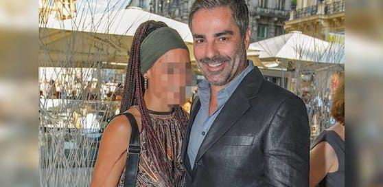 Roman Rafreider mit seiner Ex-Lebensgefährtin