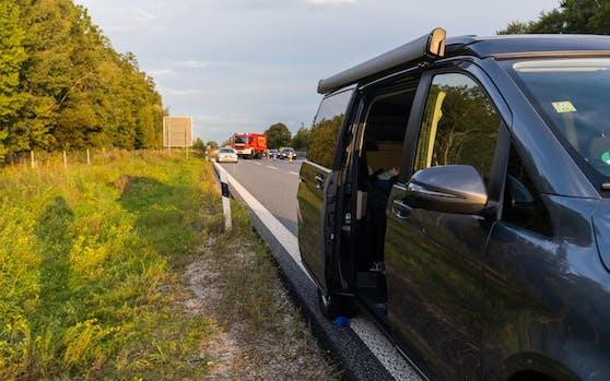 Aus diesem Wagen stürzte die 28-Jährige bei voller Fahrt auf die Straße.