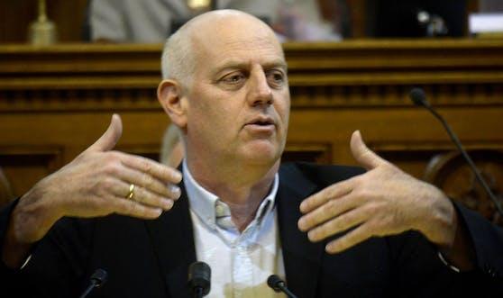 Ex-Politiker C. Chorherr.