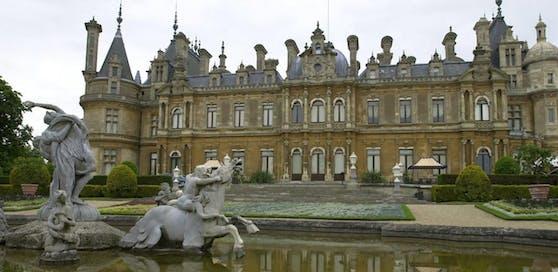 Waddesdon Manor in Buckinghamshire gehört zur berühmten Rothschild-Sammlung.
