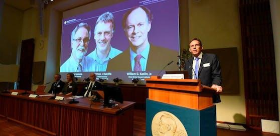 Die drei Zellforscher wurden mit dem Medizin-Nobelpreis geehrt.