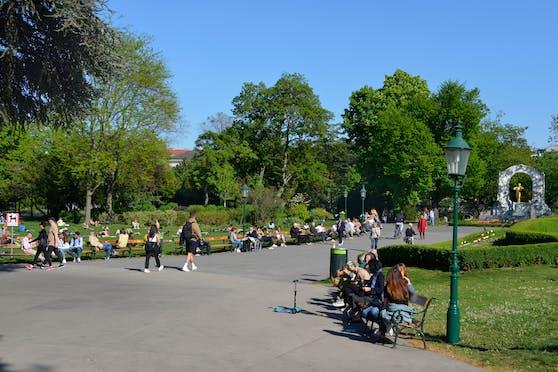 Der Wiener Stadtpark ist im Sommer gut besucht.