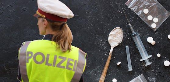 5.516 Anzeigen nach dem Suchtmittelgesetz gab es 2017 in Niederösterreich.