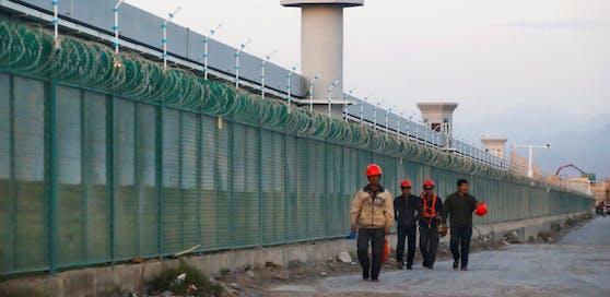 """Das """"Fortbildungslager"""" Dabancheng in Xinjiang"""