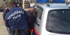 Schlepper steckt Flüchtlinge 10 Stunden in Kofferraum