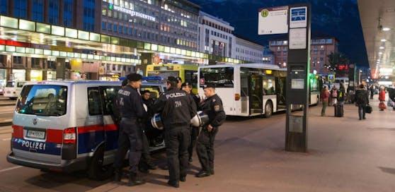 Die Attacke ereignete sich in der Nähe des Innsbrucker Hauptbahnhofs. Archivbild