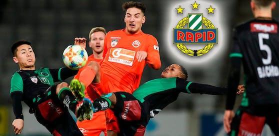Horn-Stürmer Ercan Kara steht angeblich auf dem Wunschzettel des SK Rapid Wien.