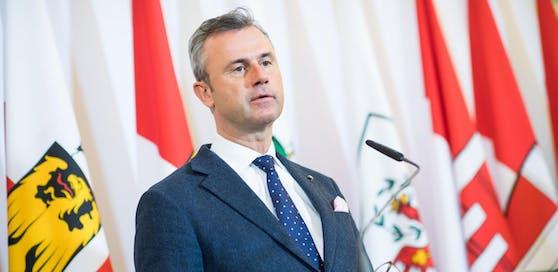 Minister Norbert Hofer (FPÖ)