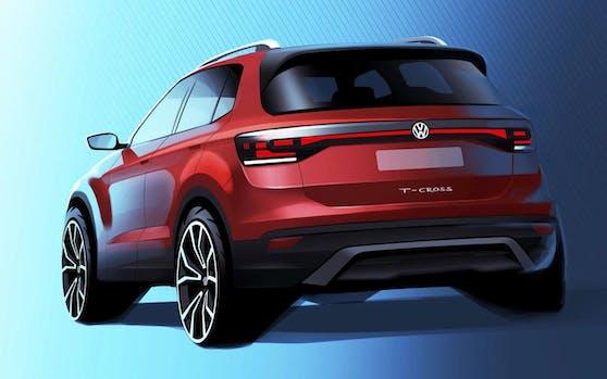 Geht in Serie: VW T-Cross