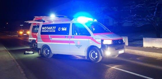 Ein 58-jähriger Unfall wurde bei dem Unfall getötet. (Symbolfoto)
