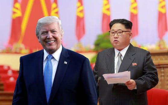 US-Präsident Donald Trump, Nordkoreas Diktator Kim Jong un