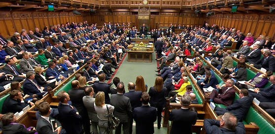 Das House of Commons tritt heute zusammen normalerweise ist Freitag frei.