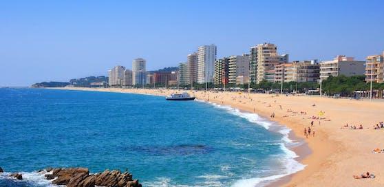 Platja d'Aro: An diesem Strand wurde die 27-Jährige von drei Männern vergewaltigt.