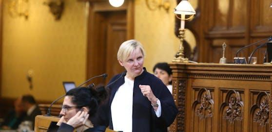 """Sozialstadträtin Sandra Frauenberger (SPÖ): """"Wir wollen möglichst viele Menschen in den Arbeitsmarkt integrieren."""""""