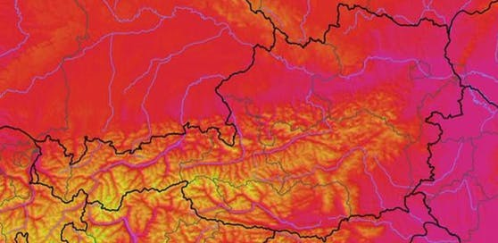 So heiß wird es in Österreich am Mittwoch.