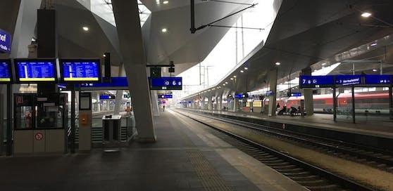 Der Warnstreik scheint fix. Eindrücke vom Hauptbahnhof.