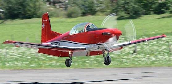 Eine Pilatus NCPC-7 des Schweizer Militärs wird vermisst. Archivbild
