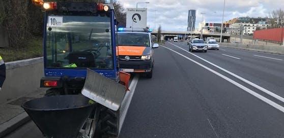 Dieser Traktor taugt nicht für die Autobahn!