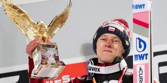 Dawid Kubacki gewann die Tournee, ausgesorgt hat er aber noch lange nicht.