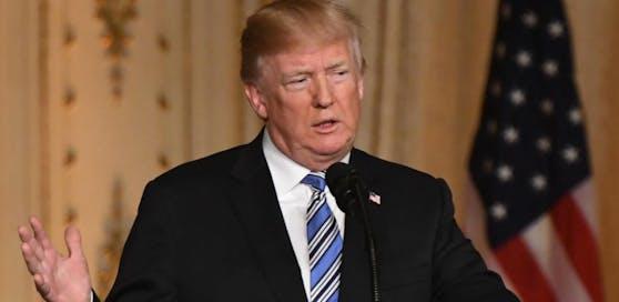 US-Präsident Donald Trump baut auf ein Treffen mit Kim