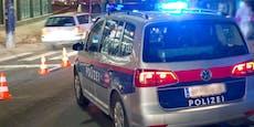 Verfolgungsjagd mit Polizei endet mit Crash gegen Mauer