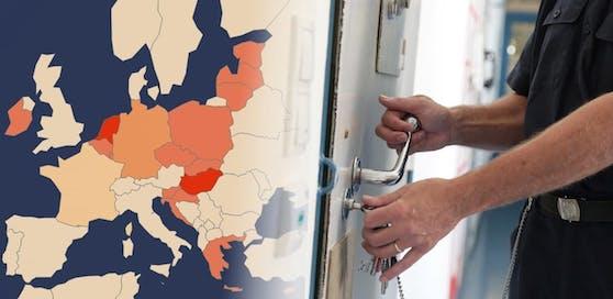 15 EU-Staaten nutzen bereits die Möglichkeit der Sicherungshaft für Asylwerber.