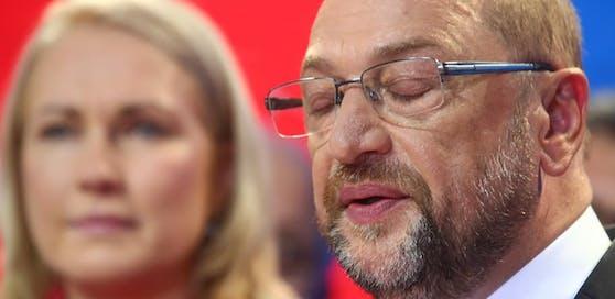 SPD-Chef Schulz: Hier gesteht er die Wahlniederlage ein