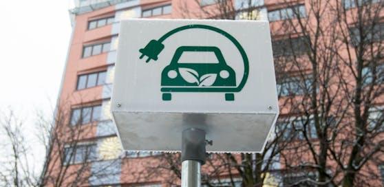 Symbolbild: Ladestation für Elektro-Autos.