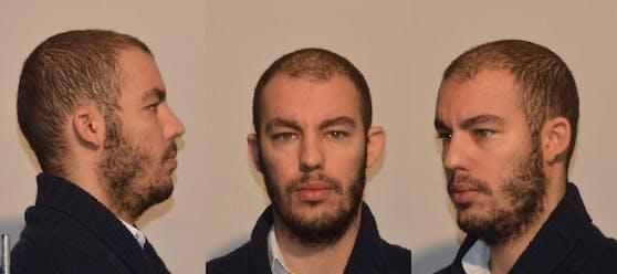 Wolf G. soll beim Linzer Bahnhof eine 18-Jährige vergewaltigt haben. Die Polizei sucht nun mit Fotos des Verdächtigen nach möglichen weiteren Opfern.