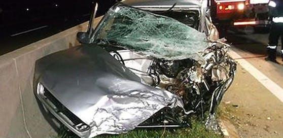 Tödlicher Geisterfahrerunfall auf der A2.