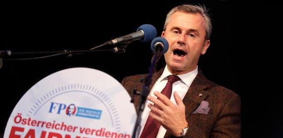 Norbert Hofer kündigte bereits seine Kandidatur zum Bundespräsidenten an.